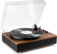 RP162 Record Player HQ BT Dark Wood