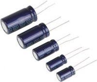 47uF / 50V Lodret elektrolyt (105°C)