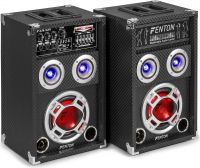 "KA-06 Active Speaker Set 6.5"" USB/RGB LED 400W"