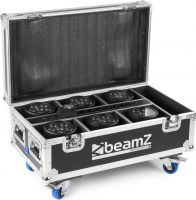 FCC66 Flightcase for 6x BBP66 Uplights with charging