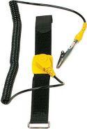 """Værktøj, <span class=""""c9"""">Velleman -</span> Antistatisk armbånd Sort m. spiralledning"""