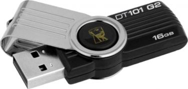 Kingston 16GB USB DataTraveler 101G2 Sort