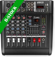 """AM5A 5-Channel Mixer with Amplifier DSP/BT/SD/USB/MP3 """"B-STOCK"""""""