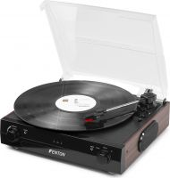 RP102B Record Player BT Black/Wood