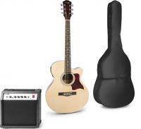 ShowKit Electric Acoustic Guitar Pack Natural