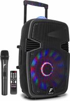 """FT15JB Portable Sound System 15"""" 800W with light show"""