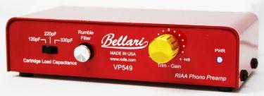 Bellari VP549 Phono Preamp, RIAA Phono Preamp