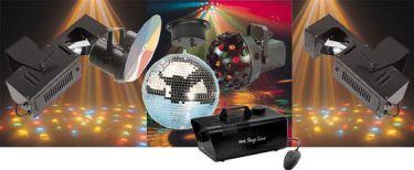 Komplet Disco Lyspakke