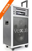 "ST110 Portable Sound System 8"" CD USB MP3 ""C-STOCK"""