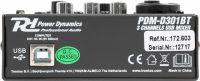 PDM-D301BT 3-Channel USB Mixer