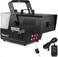 Rage 1500LED Smoke Machine with Timer Controller
