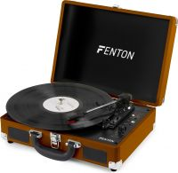 RP115F Record Player Brown