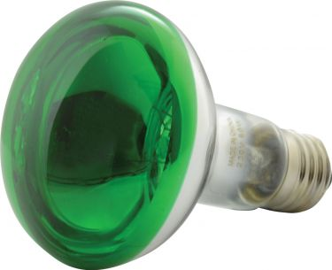 Reflector Lamp, R80, E27, Green