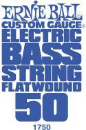 Bass Strings, Ernie Ball EB-1750, Flatwound 050w