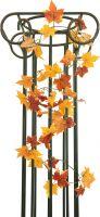 Decor & Decorations, Europalms Autumn garland, artificial, yellow, 180cm