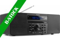 """Prato All-in-One Music System CD/DAB+ Black """"B-STOCK"""""""