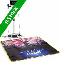 """KSM15W Karaoke Stage Set White with lighted Stage Mat """"B-STOCK"""""""