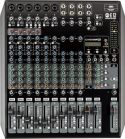 RCF E12 mixer 6 Mic + 3 stereo input, 4 AUX, m/effekt