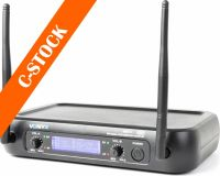 """WM73C UHF 2-channel Wireless Combi System with Handheld, Bodypack and Display """"C-STOCK"""""""