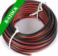 """Universal Cable Red&Black 10m 2x 0.75mm """"B STOCK"""""""