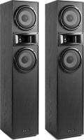"SHF700B Tower Speaker Set 2x 6.5"" Black"