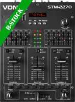 """STM2270 4-Channel Mixer Sound Effects SD/USB/MP3/BT """"B-STOCK"""""""