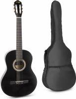SoloArt Spansk guitar pakke (Sort)
