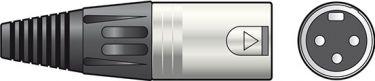 DMX terminator 3-pol XLR 120 ohm