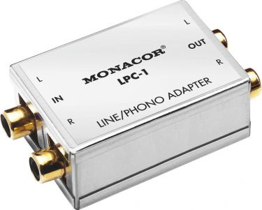 Line/phono adapter LPC-1