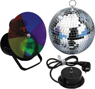 Mirror ball complete set LE-3SP