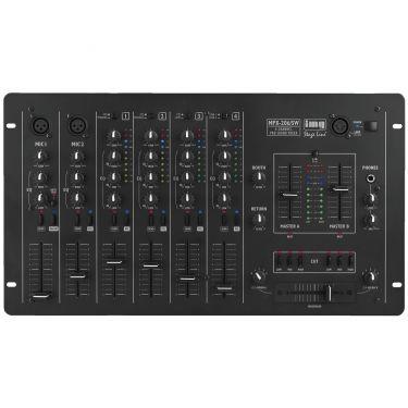 Mixer 6-kanals MPX-206/SW