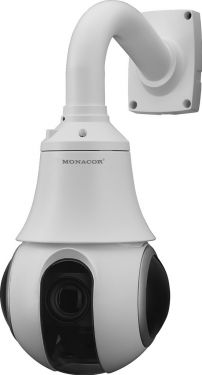 PROJECT Line 3 megapixel PTZ speed colour dome camera in an outdoor housing INC-3557PTZ