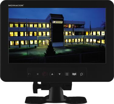 LCD colour monitor with LED backlight TFT-800LED
