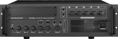 5-zone mono PA mixing amplifiers PA-5240