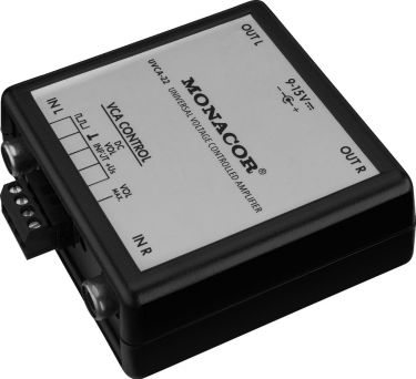 Voltage-controlled 2-channel preamplifier UVCA-22