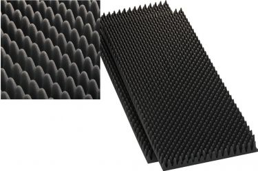 Speaker wedge moulded foam sheets MDM-40