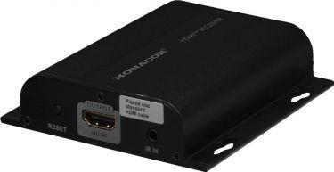 HDMI™ via CAT modtager INS-100R