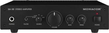 Forstærker 2x25Wmax SA-50