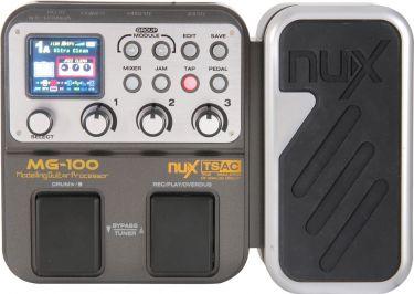 NUX MG-100 guitar multi-fx pedal
