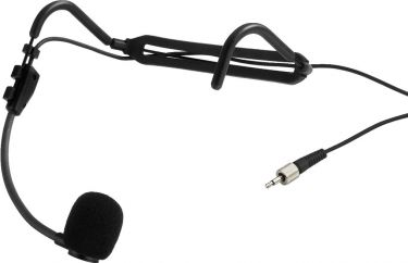 Replacement electret headband microphone HSE-821SX