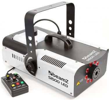 S1500LED Smoke Machine 9x 3W RGB DMX