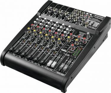 Omnitronic - Omnitronic LSR-1424FX Live mixer, 14 indgange, USB, DSP FX