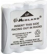 MIDLAND - MIDLAND - PB G6/G8 batterimodul til G6/G8