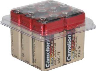 Camelion - Camelion - Alkaline E-blok bat. 9V / 500mAh (6 stk)