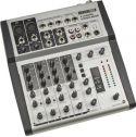 HQ Power - 6 kanals mixer - Prof. Med digital reverb / ekko