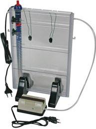 Ætsetank med pumpe og varmelegeme