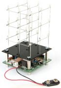 Velleman - MK193 - 3D LED kube, 3x3x3 røde LED, programmerbar via USB