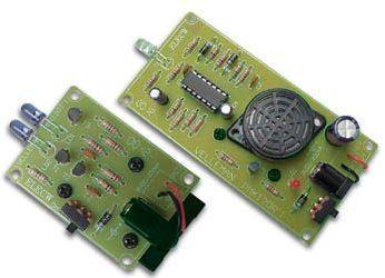 Velleman - MK120 - IR Lysbarriere alarm