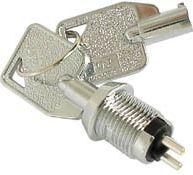 Nøglekontakt - 1P OFF-ON (SPST)