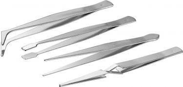 Fixpoint - Pincetsæt - Antimagnetisk rustfri stål, 4 stk.